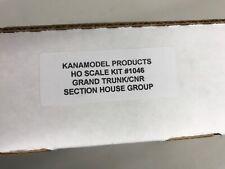 Kanamodel HO kit 1046 Grand Trunk (CNR) Section Set