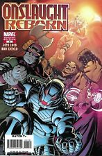 Onslaught Reborn Comic Issue 3 Limited Variant Modern Age First Print 2007 Loeb