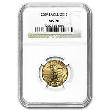2009 1/4 oz Gold American Eagle MS-70 NGC