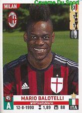 377 MARIO BALOTELLI ITALIA AC.MILAN LIVERPOOL.FC STICKER CALCIATORI 2016 PANINI