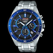Edifice EFR552AR-1A. Red Bull V8 Supercars LIMITED EDITION Mens Steel Watch.