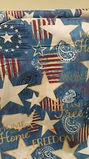 Colors of Freedom We the people Wilmington Prints 100% cotton Fabric by the yard
