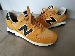 Made in USA New Balance 1400 M1400CL 10 black yellow white 1500 998 1300 orange