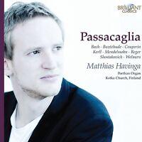 MATTHIAS HAVINGA - PASSACAGLIA: MATTHIAS HAVINGA  CD NEU BACH/BUXTEHUDE/