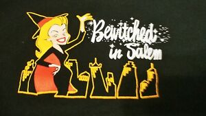 Bewitched In Salem Black T Shirt XL Classic TV show