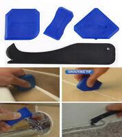 New Silicone Sealant Spreader Spatula Scraper Cement Caulk Removal Tool 4pcs/Set