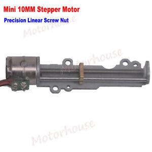 Long Linear Screw Slider Nut Micro Mini 10mm Stepping Motor Stepper Motor 3V 5V