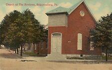 Church of the Brethren Shippensburg Pa Postcard