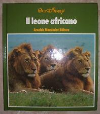WALT DISNEY - IL LEONE AFRICANO - 1977 MONDADORI (BP)
