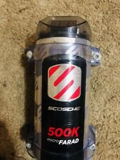 Scosche Psc.5 500K Micro-Farad Power Capacitor Stores power to improve Bass