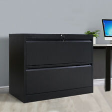 Metal Lateral File Cabinet Office Lateral File Storage Cabinet With2 Drawers Lock