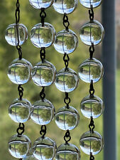 Beautiful Antique Pools of Light Necklace with Pendant Drop