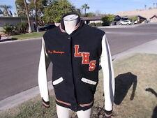 Vintage Lincoln High School Tigers Varsity Lettermans School Jacket  SZ  Reg S
