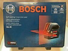 Bosch Gll 50 Self Leveling Visimax Cross Line Laser Level
