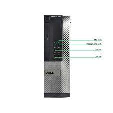 Dell OptiPlex 7020 SFF PC Desktop i5-4590 8GB Ram 240GB SSD Windows 10 Pro