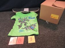 "Rude Boyz Boys Mini Skateboard 17"" Size Small S Sm 4 Kids Top T-Shirt Tee Rb New"