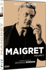 "DVD ""Maigret - Volume 3""  Bruno Cremer  NEUF SOUS BLISTER"