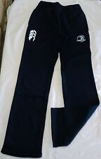 LEINSTER RUGBY NAVY SPORT STYLE FLEECE PANTS BY CANTERBURY SIZE BOYS 8 YEARS