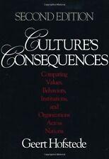 Culture's Consequences: Comparing Values, Behaviors, Institutions and Organizati