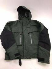 Cabela's Goretex Outdoor  Parka Jacket Men's Medium Green fly fishing waterproof