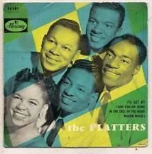 FRENCH EP THE  PLATTERS  I IL GET BY