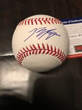 Ryan Braun SIGNED AUTOGRAPHED New OMLB AUTO Ball Milwaukee Brewers PSA/DNA