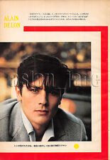 1961, Alain Delon / Jean-Paul Belmondo Japan Vintage Clippings 3sc4