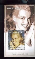MARLYN MONROE Souvenir Sheet MNH TURKMEISTAN - E1