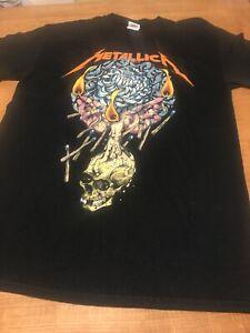 Metallica Rare Vintage Tour Shirt 2014 By Request Euro Event Shirt Glastonbury