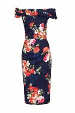 Cotton Stretch Floral Dresses for Women