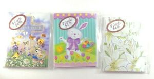 Leanin Tree EASTER CARDS Vintage Unopened Package 8 cards and Envelopes - Choice