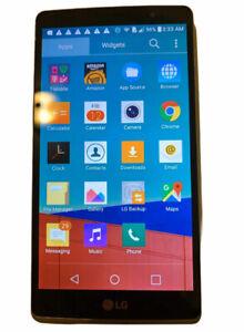 LG G Stylo H631 Refurbished LCD Screen16GB-Metallic Silver (T-Mobile) Smartphone