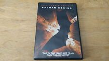 Batman Begins (Dvd, 2005, Full Frame/Full-Screen)