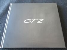 2008 2009 Porsche 911 GT2 Limited Edition Sales Book 997 GT-2 Brochure Catalog