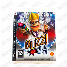Buzz Quiz TV SPECIAL EDITION for PS3 Requires Buzzers *1ST CLASS POST*