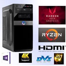 Multimedia PC-ryzen 5 2400g-16gb ram-256gb ssd+1tb HDD-Vega 11-Windows 10 pro-HDMI
