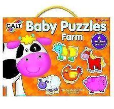 Galt Baby Puzzles - Farm 1 Normal.
