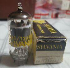 6681 Sylvania Command  Broadcast 12AX7 Vintage Tube Top Quality NOS NIB