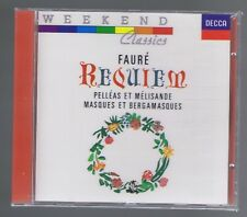 FAURE CD (NEW) REQUIEM/ PELLEAS & MELISANDE/ SUZANNE DANCO/ ERNEST ANSERMET
