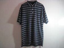 Dunning Mens Shirt Size L Large Polo Golf Short Sleeve Coolmax Stretch