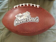 New Football - Frigo Cheeseheads Promotional Ball - Synthetic Cover