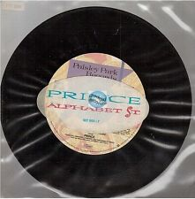 """PRINCE ALPHABET ST 45T 7"""" 927 900-7 with sticker on sleeve"""