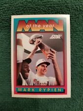 1992 SCORE MARK RYPIEN MAN OF THE YEAR #534 WASHINGTON REDSKINS COUGARS