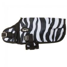 "Tough-1 600D Dog Blanket in Prints - Black/White Zebra - XX-Small - (10""-12"")"