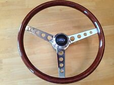 1965 1966 1967 1968 1969 Ford Fairlane Wood steering wheel ALL NEW!