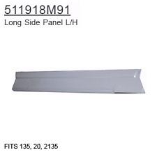 511918M91 Massey Ferguson Parts Long Side Panel L/H 135, 20, 2135