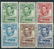 Bechuanaland Multiple Stamps
