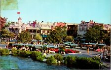 Vtg 1960s Disneyland Postcard - New Orleans Panorama 1-535 - Unposted