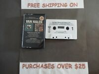 Van Halen FAIR WARNING / WOMEN AND CHILDREN FIRST EVERYBODY WANTS SOME CASSETTE
