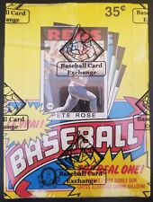 1986 OPC O-PEE-CHEE BASEBALL WAX PACK BOX BBCE AUTHENTICATED & SEALED